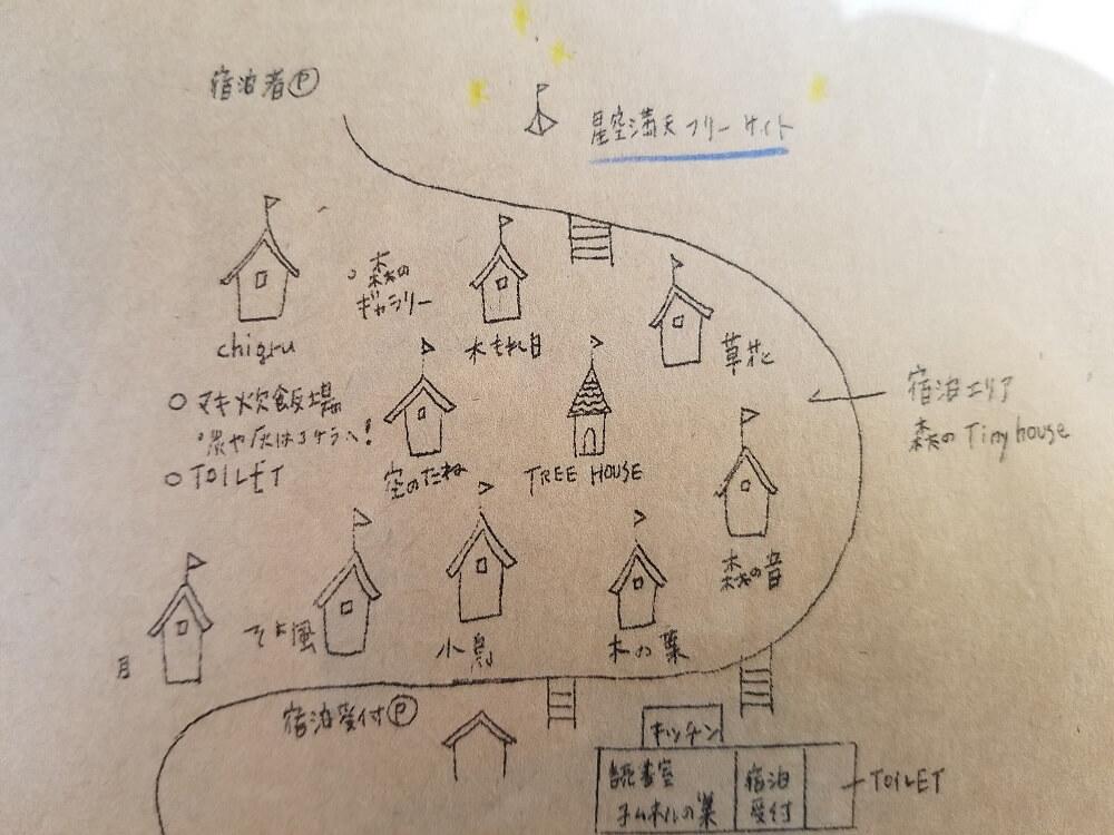 バルンバルンの森 森のTinyHouseのマップ