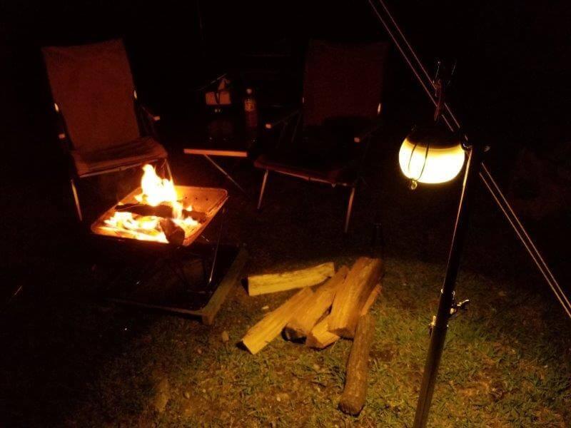 ゴンドーシャロレー日記:焚き火をする
