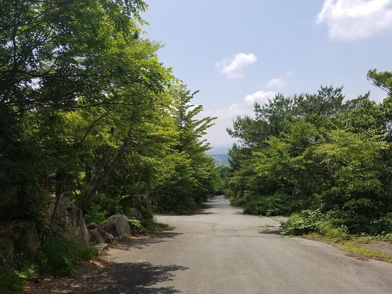 ゴンドーシャロレー内の私道