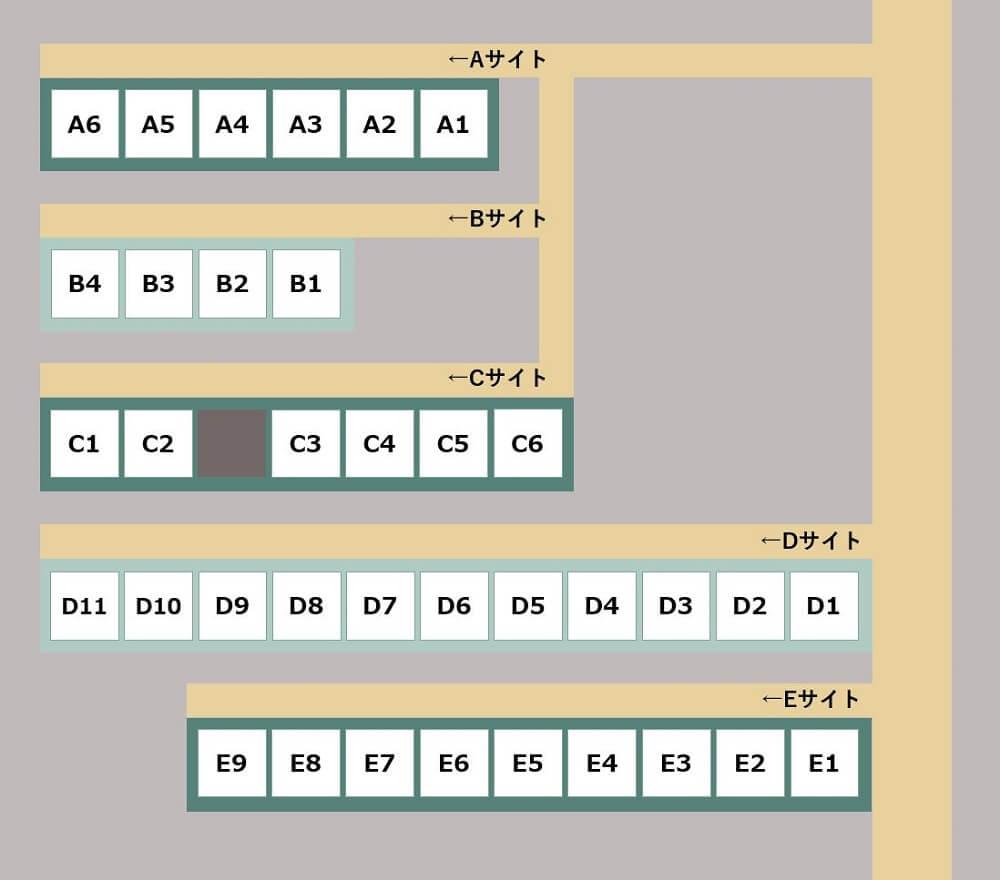 ゴンドーシャロレー 別荘エリア詳細マップ