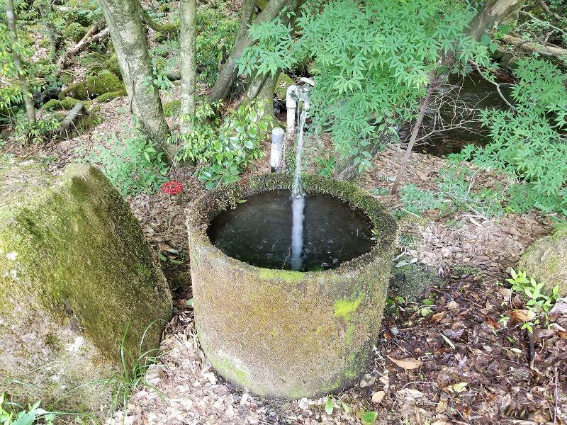 別荘エリア 3サイトに点在する水場