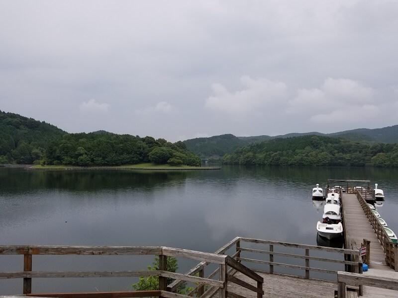 伊佐ノ浦公園ダム湖