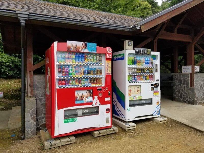 伊佐ノ浦公園 自動販売機
