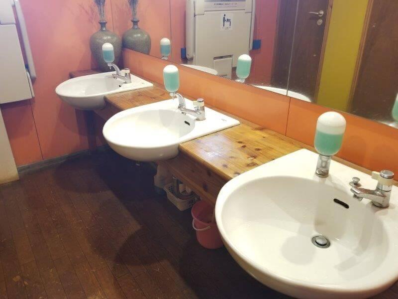 久住高原オートビレッジのトイレ