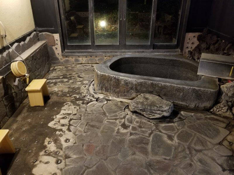 別府市 桜湯の家族風呂