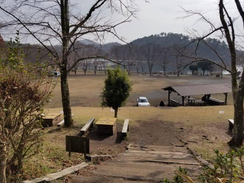 志高湖キャンプ場 グラウンド