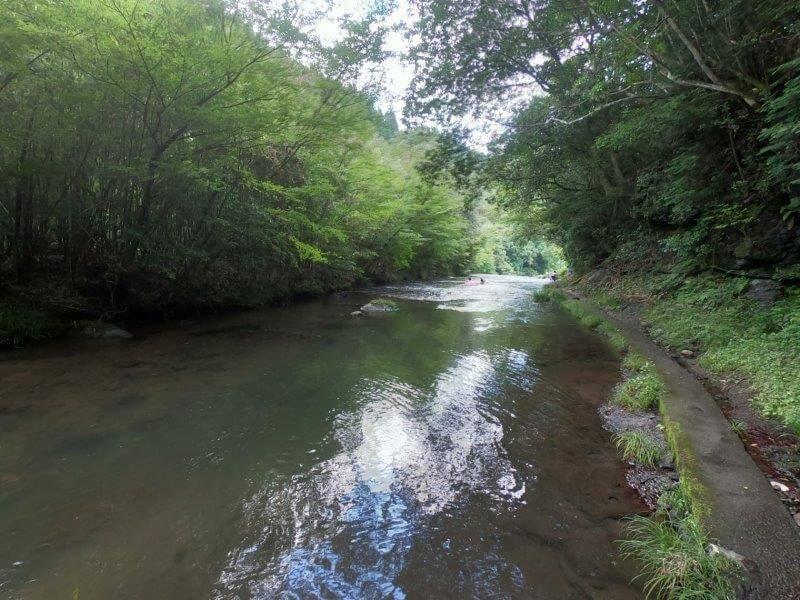 久住高原オートビレッジ:キャンプ日記 遊水峡の上流
