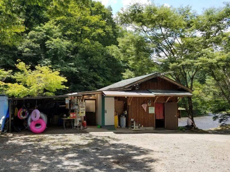 久住高原オートビレッジ:キャンプ日記 遊水峡の受付