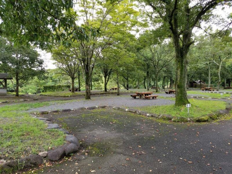 城ヶ原オートキャンプ場 オートサイト 11番サイト