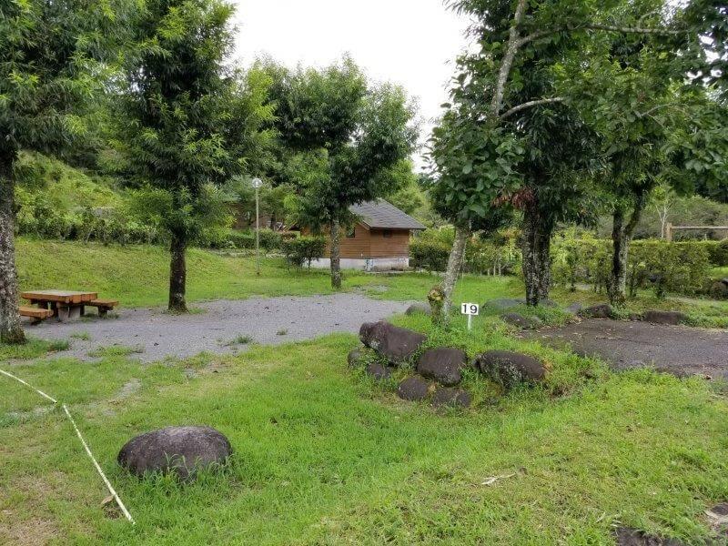 城ヶ原オートキャンプ場 オートサイト 19番サイト