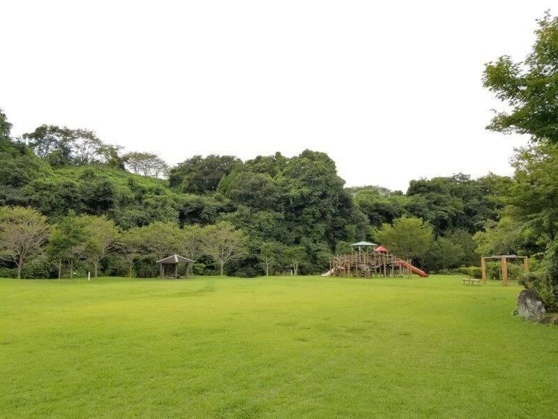 城ヶ原オートキャンプ場 芝の広場