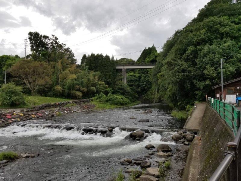城ヶ原オートキャンプ場 河川プール
