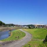 和水江田川カヌーキャンプ場の場内マップ