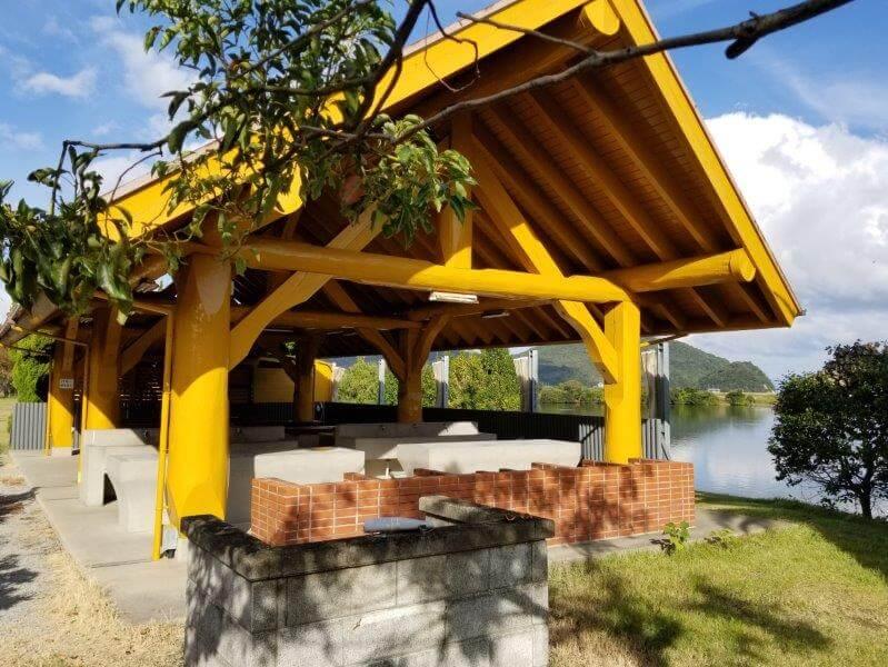 大池オートキャンプ場のBBQハウス