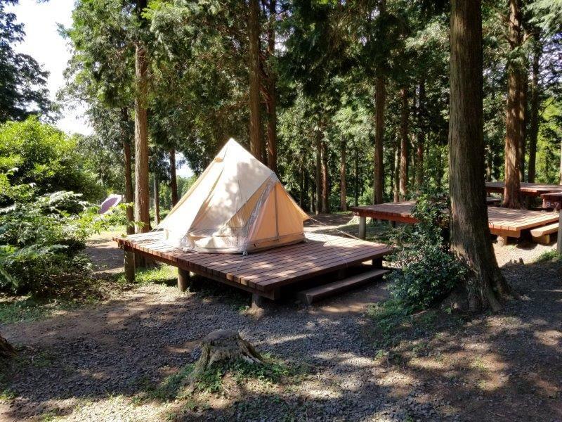 四季の里旭志 常設テントサイト ノルディスクのアスガルド