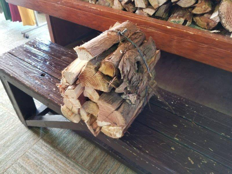 四季の里 旭志 販売されている薪