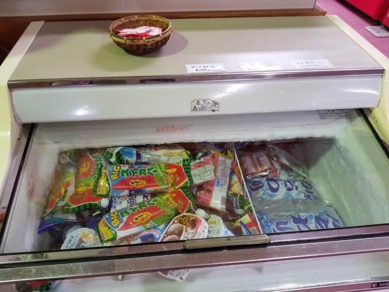 四季の里 旭志 売店のアイス