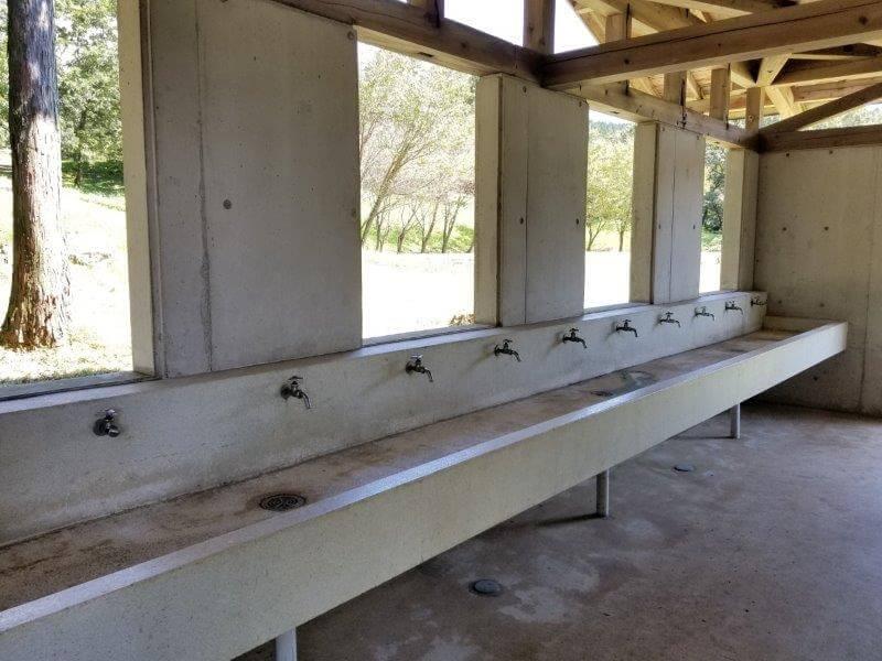 四季の里 旭志 トイレの手洗い場