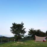 四季の里 旭志で1泊2日のキャンプ
