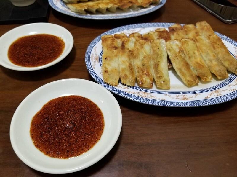 松龍軒の餃子