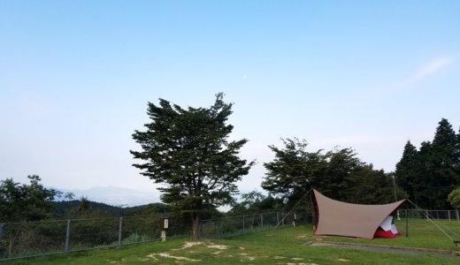 強風をおみまいされた!四季の里 旭志キャンプ場(熊本)1泊2日の旅行記