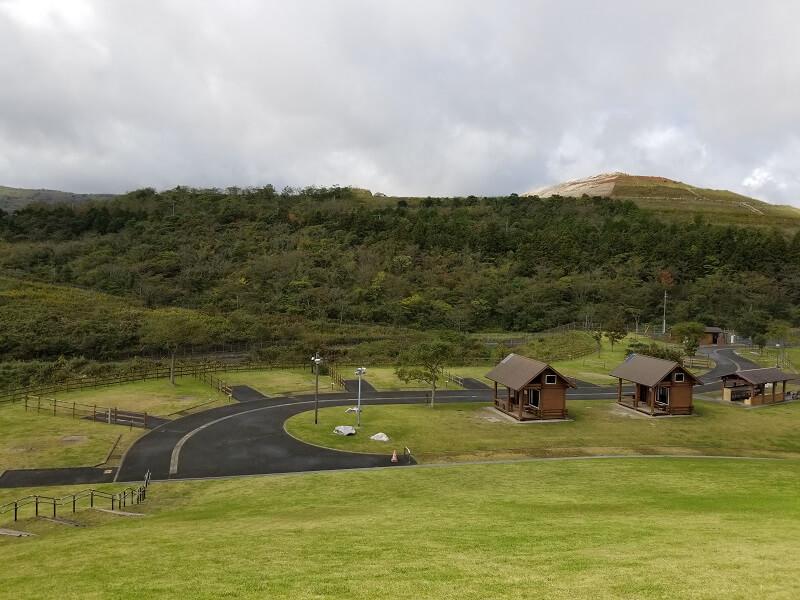 平尾台自然の郷キャンプ場 オートサイト
