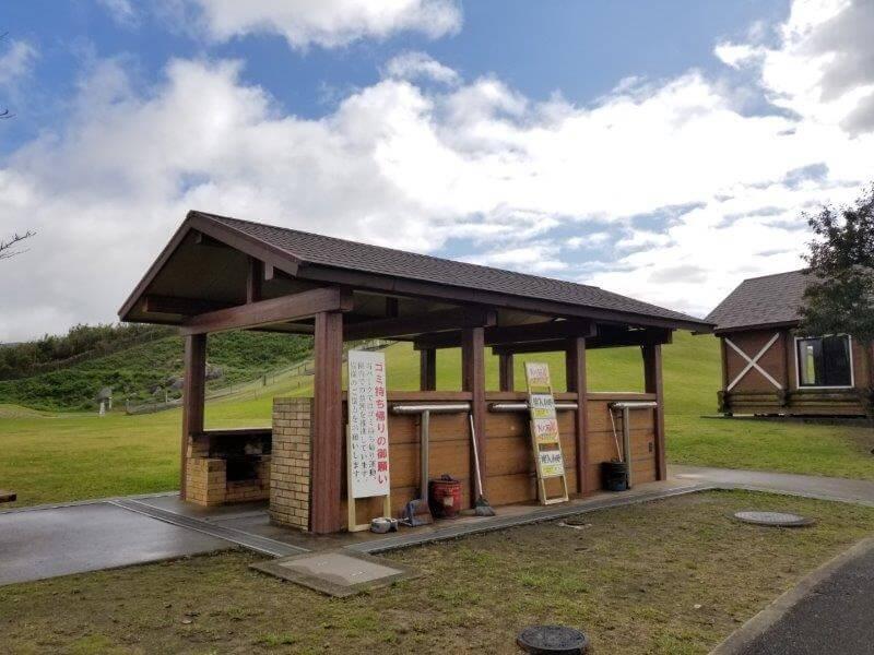 平尾台自然の郷キャンプ場 炊事棟