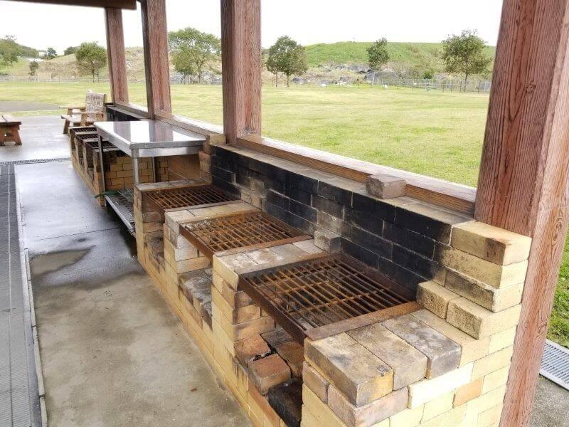 平尾台自然の郷キャンプ場 野外炉