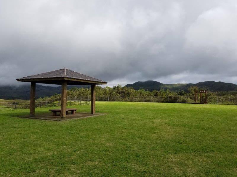 平尾台自然の郷キャンプ場 展望広場