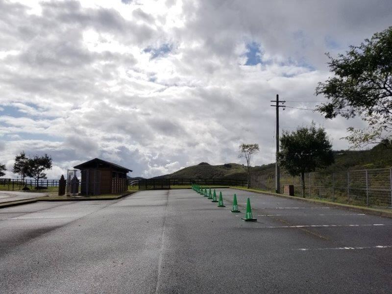 平尾台自然の郷キャンプ場 広場サイト用駐車スペース