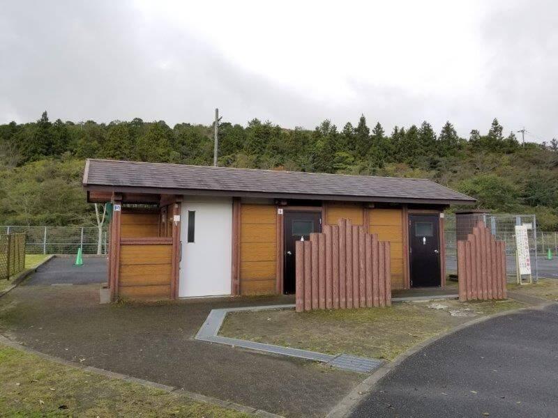 平尾台自然の郷キャンプ場 トイレ