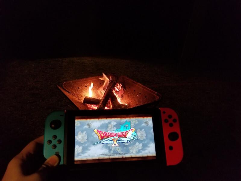 うどん県と淡路島 3泊4日のキャンプ旅行記(焚火とゲーム)