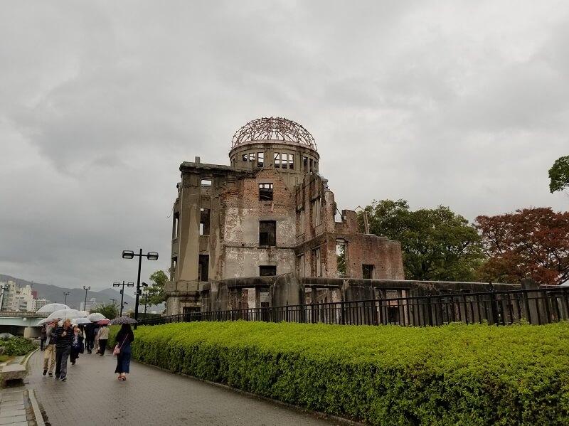 うどん県と淡路島 3泊4日のキャンプ旅行記(原爆ドーム)