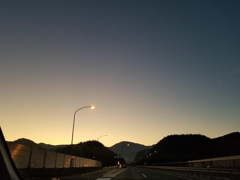 うどん県でキャンプ旅 福岡を出発