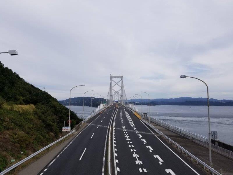 うどん県と淡路島 3泊4日のキャンプ旅行記(大鳴門橋)