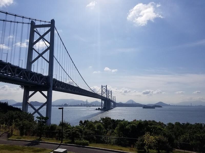うどん県と淡路島 3泊4日のキャンプ旅行記(瀬戸大橋)