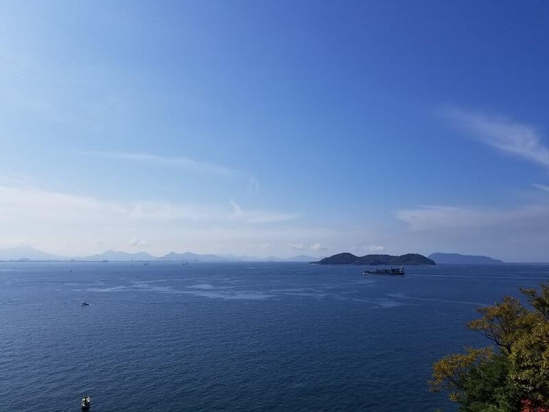 うどん県と淡路島 3泊4日のキャンプ旅行記(瀬戸内の景色)