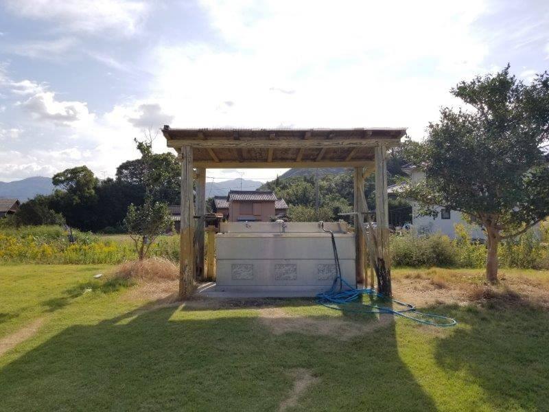 大池オートキャンプ場 炊事場