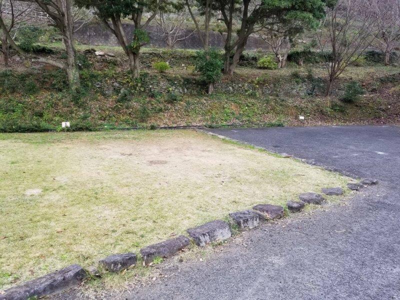 四本堂公園キャンプ場 オートサイト(1番サイト)
