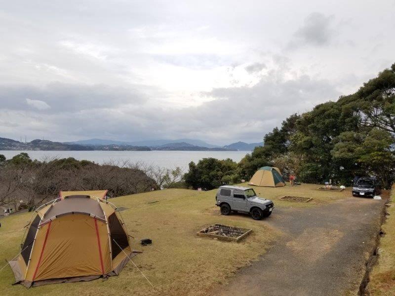 四本堂公園キャンプ場 オートサイト(14~16番サイト)