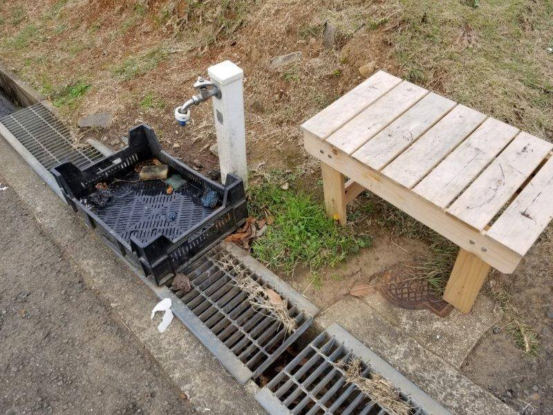 四本堂公園キャンプ場 オートサイト(簡易水道)