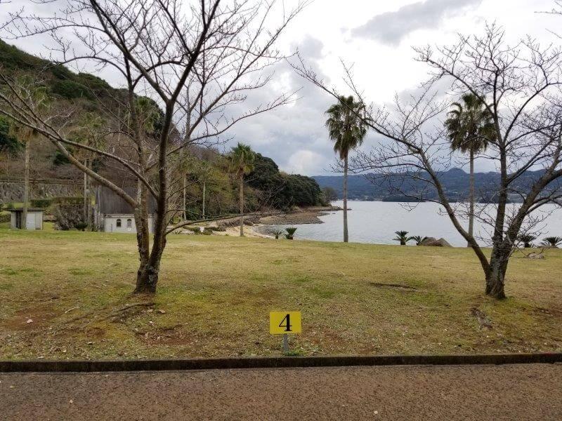 四本堂公園キャンプ場 一般サイト(4番サイト)