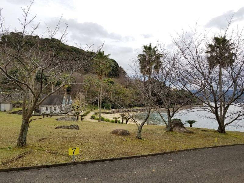 四本堂公園キャンプ場 一般サイト(7番サイト)