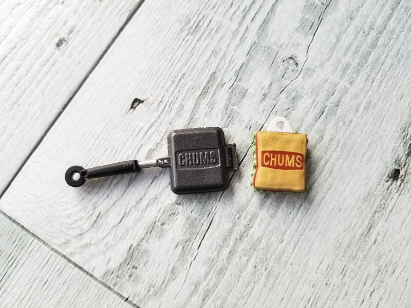 CHUMS ミニチュアマスコット4 クッキング(サンドウィッチクッカー)
