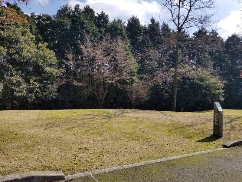 エコ・パーク論所原 キャンプ場の14番サイト
