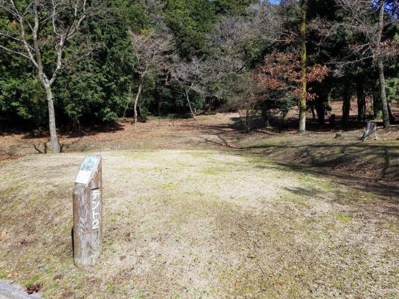エコ・パーク論所原 キャンプ場の2番サイト