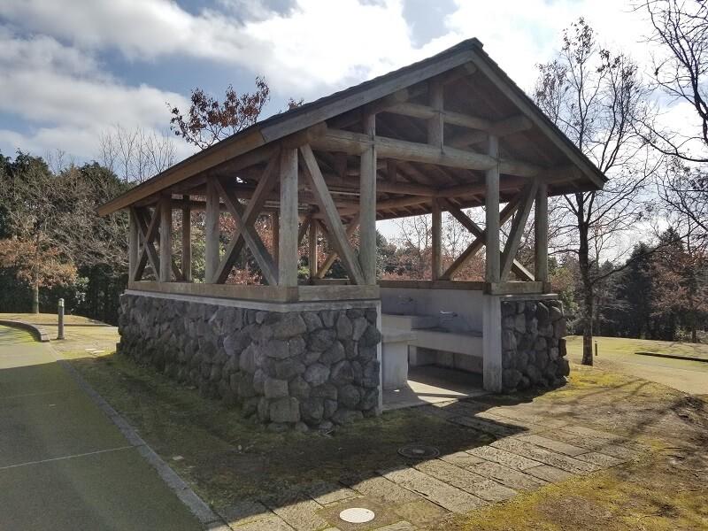 エコ・パーク論所原 キャンプ場の炊事棟