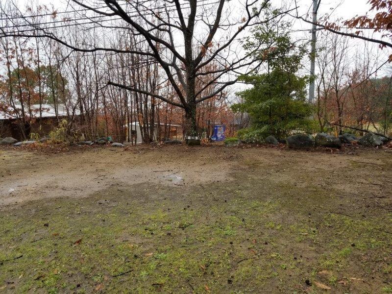 かいがけ温泉きのこの里キャンプ場 予備サイト E-3