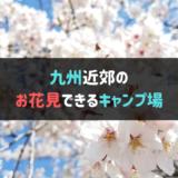 九州近郊のお花見できるキャンプ場まとめ