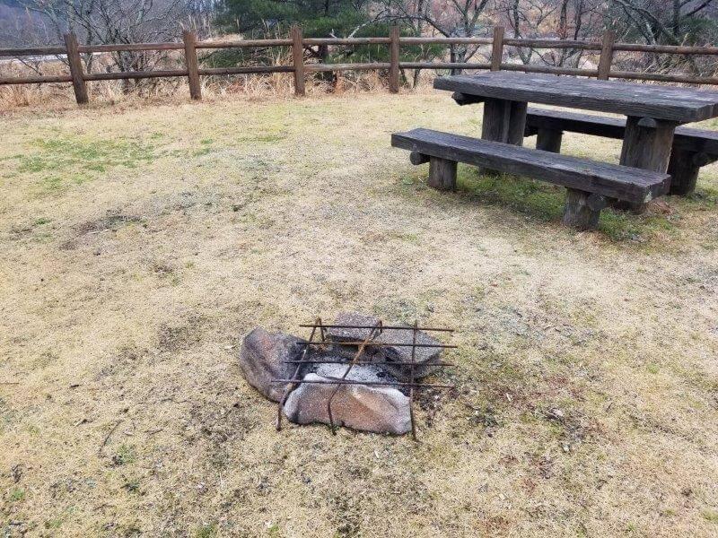 よかろうパークキャンプ場は直火OK